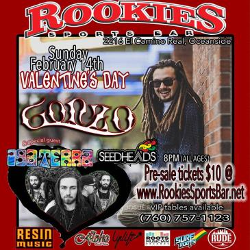 Valentines Day Party with Gonzo & Iya Terra-img