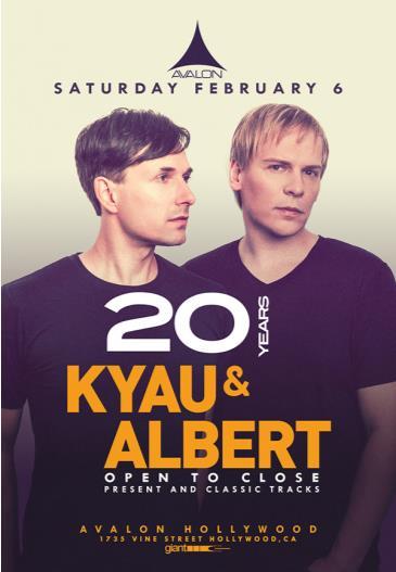 20 Years of Kyau & Albert - open to Close: Main Image