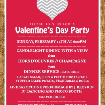Valentine's Day 2016: Dinner, Dancing & Live Sax Performance-img