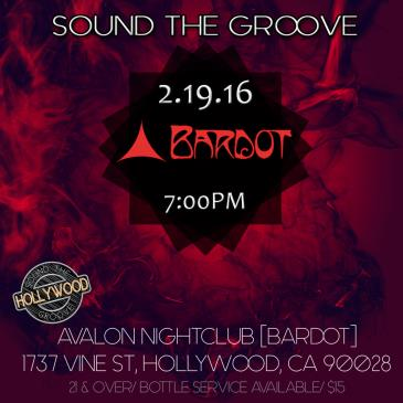 SOUND THE GROOVE @ BARDOT-img