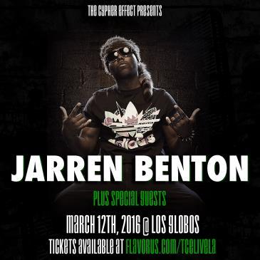 JARREN BENTON LIVE!: Main Image
