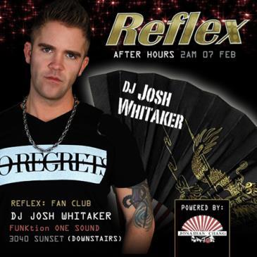 REFLEX: DJ JOSH WHITAKER-img