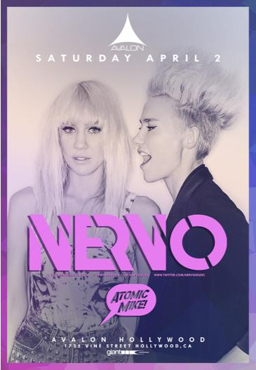 Nervo, Atomic Mike: Main Image