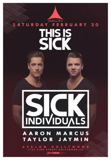 This is Sick - Sick Individuals, Aaron Marcus, Taylor Jaymin: Main Image
