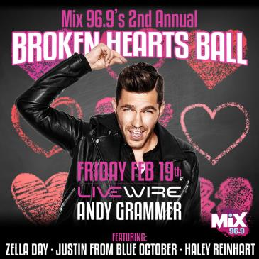 MIX 96.9's Broken Hearts Ball: Main Image