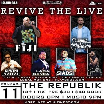 Revive the Live - FIJI-img