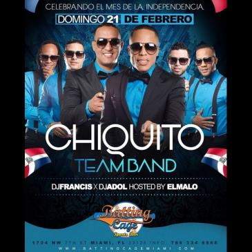 CHIQUITO TEAM BAND EN BATTING CAGE-img