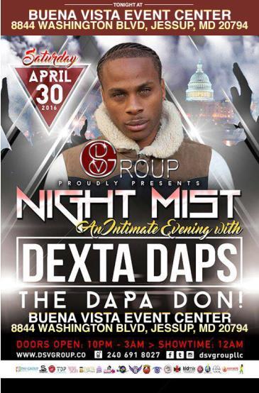 Dexta Daps - Night Mist: