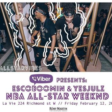 LA VIE PRESENTS ALL STAR FRIDAY WITH ESCOBOOMIN