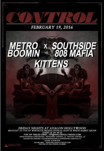 Metro Boomin & Southside 808 Mafia, Kittens: Main Image