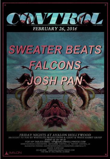 Sweater Beats, Falcons, josh pan: Main Image
