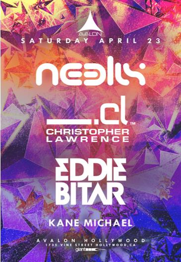 Neelix, Christopher Lawrence, Eddie Bitar: Main Image
