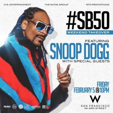 Snoop Dogg Super Bowl 50 Weekend Takeover Event 2/5-img