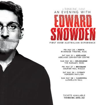 An Evening with Edward Snowden: Main Image