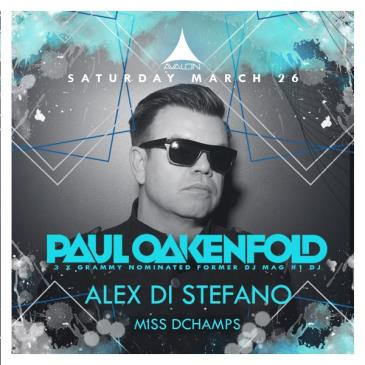 Paul Oakenfold, Alex Di Stefano, Miss Dchamps: Main Image