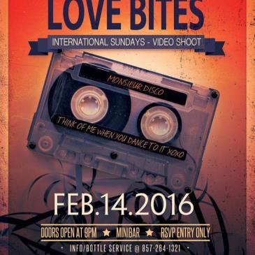Love Bites Video Shoot - Valentines Day - Mini Bar Boston-img