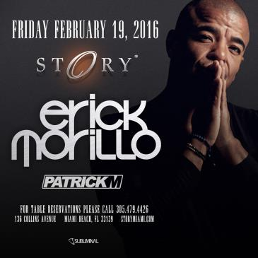 Erick Morillo STORY: Main Image