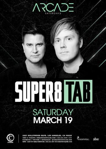 ARCADE Saturdays | Super8 & Tab: