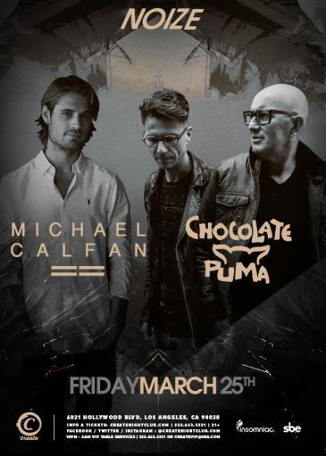 NOIZE Fridays | Michael Calfan & Chocolate Puma: