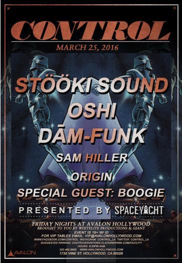 Stooki Sound, Oshi, Dam Funk: Main Image