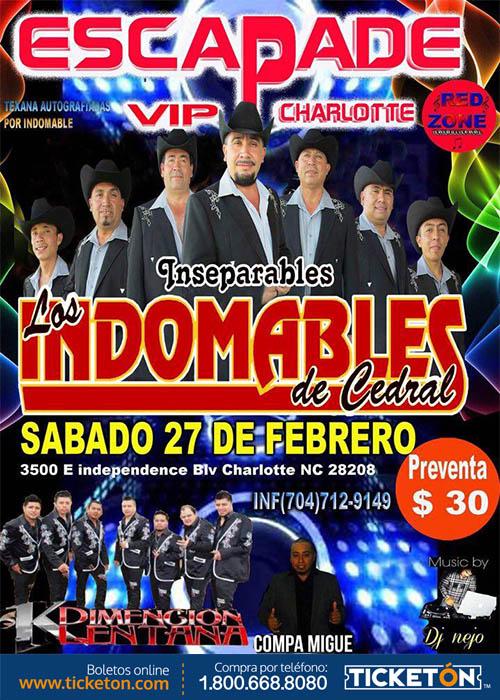 Los Indomables Tomado De: LOS INDOMABLES Y MAS! Tickets