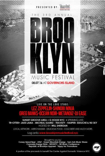 3rd Annual Brooklyn Music Festival: