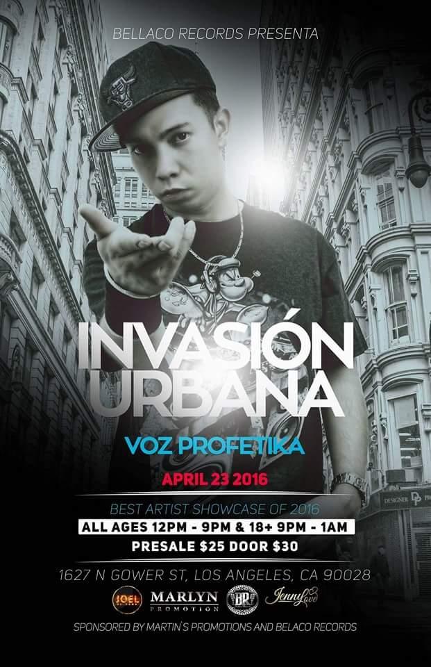 Urban Invasion 2016 Tickets 04/23/16
