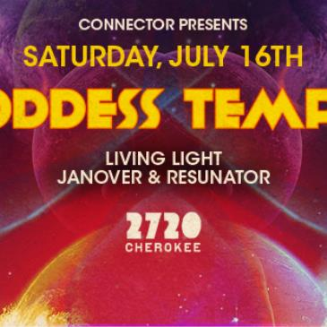 GODDESS TEMPLE f/ Living Light + Janover & Resunator-img