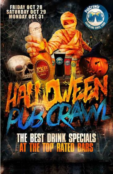 Boston Pub Crawl Halloween 2016