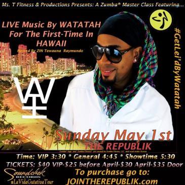 Zumba Master Class: WATATAH!-img