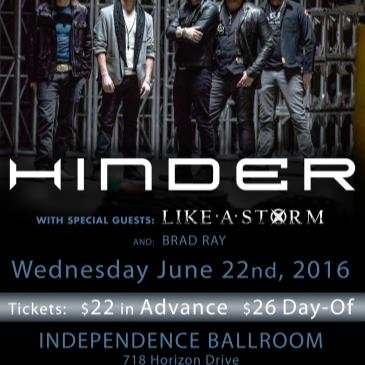 Hinder: A Special Acoustic Performance-img