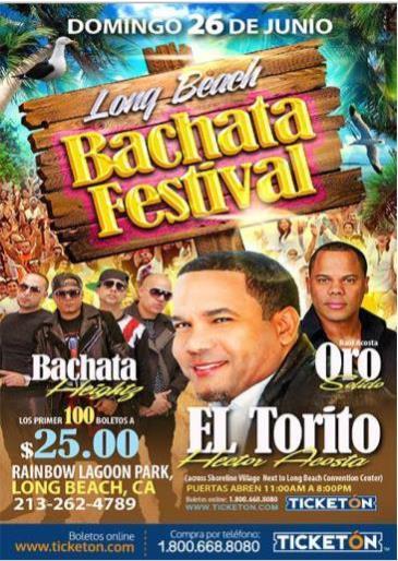 LONG BEACH BACHATA FESTIVAL: Main Image