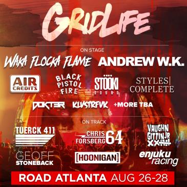 GRIDLIFE SOUTH - MUSIC AND MOTORSPORTS FESTIVAL: Main Image