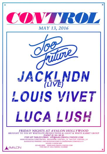 Too Future Tour: JackLNDN, Luca Lush, Louis Vivet: Main Image