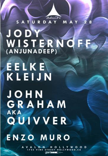 Jody Wisternoff, Eelke Kleijn / Quivver: Main Image