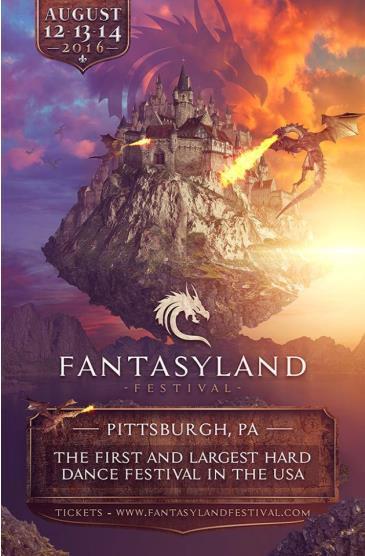 FANTASYLAND FESTIVAL 2016: Main Image