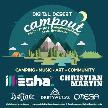 Digital Desert Campout: Main Image