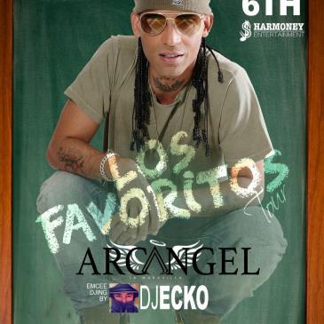 Arcangel Los Favoritos Tour w/DJ Ecko-img