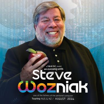 An evening with Steve Wozniack