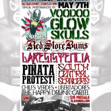 Voodoo Glow Skulls at Self Help Graphics ! East Los Skapunk-img