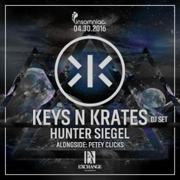 Insomniac presents Keys N Krates w/ Hunter Siegel-img