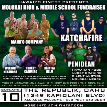 Molokai High Fundraiser: