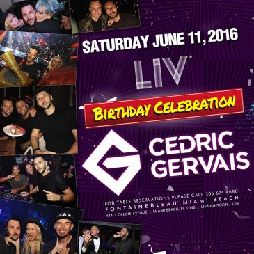 Cedric Gervais 'Birthday Celebration' LIV-img
