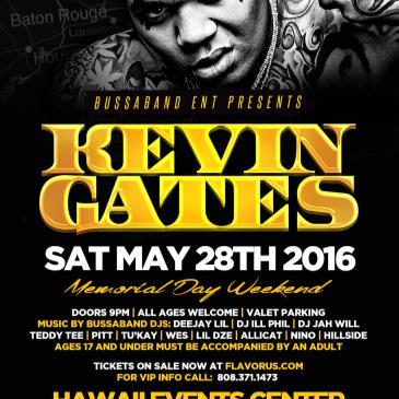 KEVIN GATES  HONOLULU May 28-img