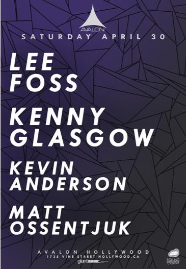 Lee Foss, Kenny Glasgow: Main Image