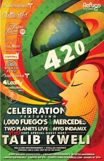 420 EVENT w 1,000 Fuegos, Two Planets, Mercedes, MyG: Main Image
