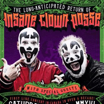 INSANE CLOWN POSSE with Special Guests
