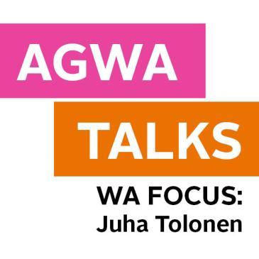 AGWA Talks: Juha Tolonen: Main Image