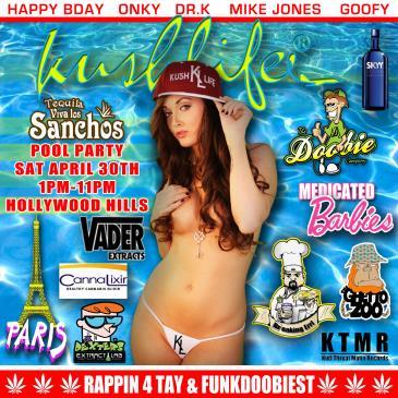 Kushlife Mansion Pool Party-img