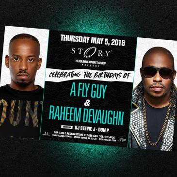 A Fly Guy & Raheem Devaughn #STORYthursday-img